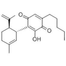 3-HYDROXY-2-[(1R,6R)-3-METHYL-6-(1-METHYLETHENYL)-2-CYCLOHEXENE-1-YL]-5-PENTYL-2,5-CYCLOHEXADIENE-1,4-DIONE CAS 137252-25-6