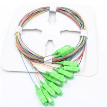 12 Coffre à fibres optiques codées en couleur avec connecteur Sc / APC