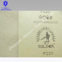 Schleifpapier des Soemhersteller-Sandpapiers für Glas