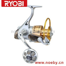full metal RYOBI big game surf casting spinning fishing reels