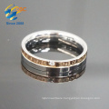 Popular women like fashion engraving stainless steel ring