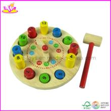 Jouet en bois de jeu de marteau de bébé (W11G012)