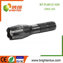 Factory Wholesale Multi-functional Best 5 Modes Strong Light Long Beam 10w XML T6 Rechargeable led Torch with 1*18650 battery