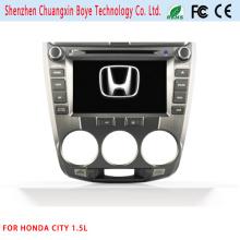 Navegación GPS para Honda City 1.5L Reproductor de DVD