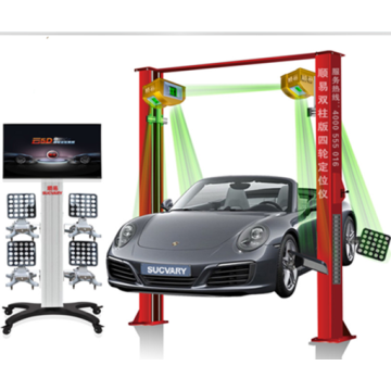 Wheel Aligner mit Touchscreen