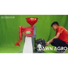 DAWN AGRO Estaca Paddy Separador Molino de arroz Fresadora Pulidora Precio de la máquina