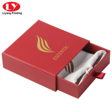 Custom Luxury jewelry ring box in chinese red
