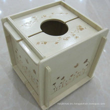Caja de pañuelos desmontable MDF