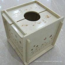 Boîte à mouchoirs démontable en MDF