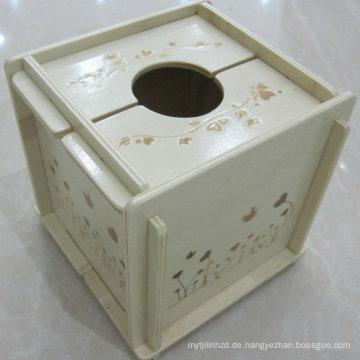 MDF-abbaubare Tissue-Box