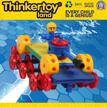 DIY Mini Robot Plastic Education Toy Children Building Block Toys