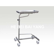 (B-42) Stainless Steel Hospital Trolley for Operation Instrument