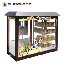ShineLong Heavy Duty Commercial Hot Maker Máquina pipoca de pipoca