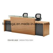 China Büromöbel Front Reception Desk zum Verkauf (FOH-RD-2410)