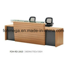 China Office Furniture Front Reception Desk for Sale (FOH-RD-2410)