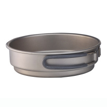 High Quality Titanium Camping Pot 400ml
