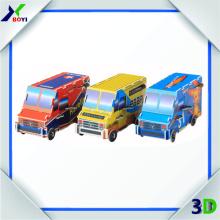 Best selling cheap Custom plastic toy bus