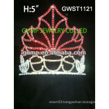 Charming Seasonal pageant custom rhinestone crown tiara -GWST1121