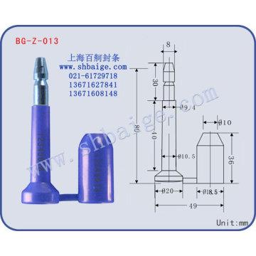 vedação de parafuso BG-Z-013 vedação de contêiner