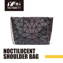 Bolsos de cadena de bolso de hombro de moda de PU noctilucentes