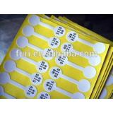 label paper processing machine/die cutting machine for self-adhesive sticker