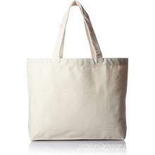 Plain off white reusable shopping tote bags