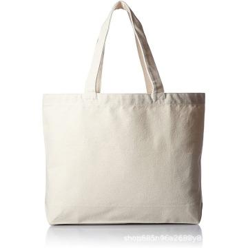 Einfache weiße wiederverwendbare Einkaufstaschen