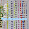 Acrylic Crystal Clear Hanging Bead Garland Chandelier