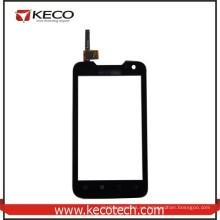 4.0 pulgadas de pulgadas de teléfono móvil de pantalla táctil del digitizador panel de vidrio de piezas de repuesto para Lenovo A789