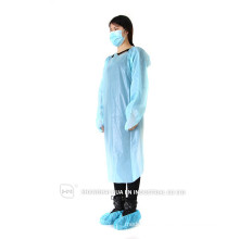 High Quality Factory Price sterile disposable cpe blue surgical gowns