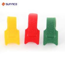 Laço de cabo de nylon do laço do dobro de matéria têxtil reusável da qualidade do OEM