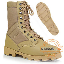 Military Tactical Desert Boots of Waterproof Nylon and Cowhide Leather