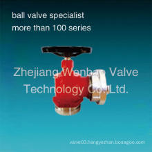 316 Stainless Steel Fire Hydrant Valve with Red Paiting
