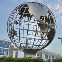 Toutes sortes de grand fabricant de sculpture en acier inoxydable