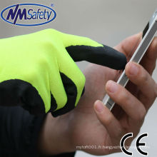 NMSAFETY softy écran tactile gants de travail usine