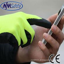 NMSAFETY softy touch screen luvas de trabalho fábrica