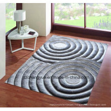 High Quality Polyester Modern Shaggy Rugs with 3D Effects
