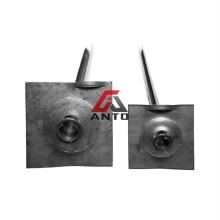 Plaque d'acier Q345 de boulon de roche d'ancrage
