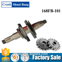 Best Quality Crankshaft Parts Name 168FB, Crankshaft Price cheap