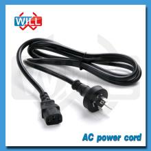 1.8m 2m SAA Cable de alimentación australiano para la olla de arroz 10a 250v