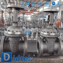 Tipo de flange de válvula de portão petroquímico de qualidade europeia Didtek