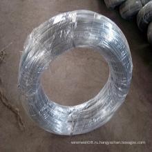 Горячий Окунутый провод оцинкованной стали, для бандажной проволоки