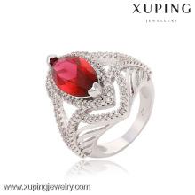 13650 Rodio color 2016 piedra grande último anillo de bodas diamante elegante anillo diseños