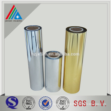 Metallized Gold Silver Coated PET Film