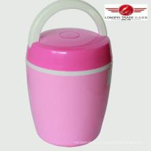 Caixa de lanche de preservação de calor de vácuo biliar de plástico