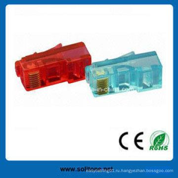 8p8c Сетевой кабель Cat5e RJ45 UTP Модульные вилки