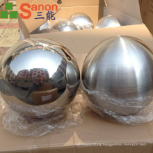 SUS 304 Stainless Steel Hollow Ball Christmas Decoration Ball