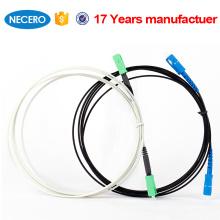 Cordón de parche FTTH de fibra monomodo SM-SC para interiores y exteriores