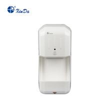 Secador de manos automático con indicador de nivel de agua