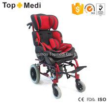 Topmedi Aluminum Manual Cerebral Palsy Children Wheel Chair